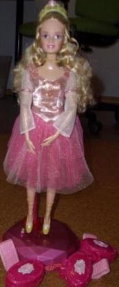 """Große Barbie - Tanz mit mir Barbie aus """"Die 12 tanzenden Prinzessinnen"""""""