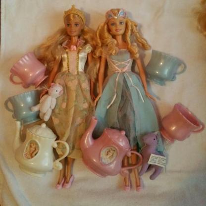 Barbie Teeparty