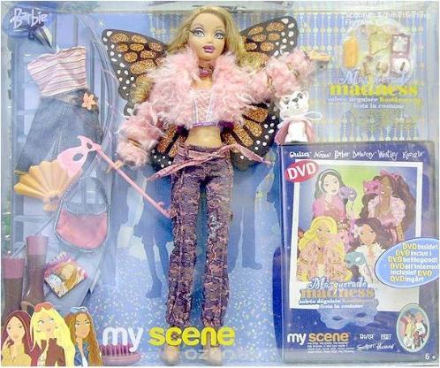 Barbie Myscene Puppe mit viel Zubehör, DVD Neu&OVP + Handtasche - Neuenkirchen (Kreis Steinfurt)