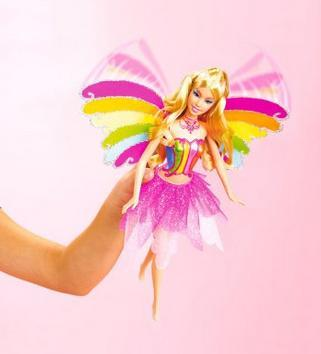Barbie mit Barbie DVD Spiel