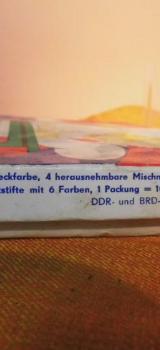 """Malkasten MARKANT """"Farben Fürs Kind"""" DDR + BRD / Sammler Dekoration / ca. 1970 - Zeuthen"""