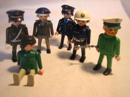 5 x Polizei / ADAC Motorräder  und 9 Polizisten - Meckenheim (Rheinland)