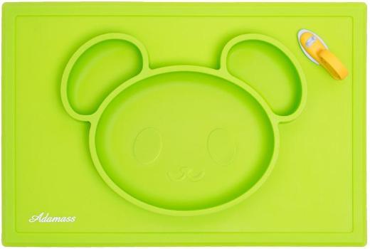Platzdeckchen & Teller aus Silikon Smart Bear von Adamass® NEU&OVP - Herzogenrath