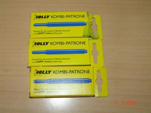 15 Holly Kombi - Patronen - königsblau - OVP - NEU