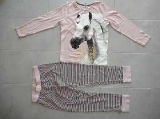 Mädchenschlafanzug mit Pferdemotiv zu verkaufen *Größe 170/176*