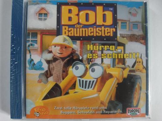 Bob der Baumeister - Hurra es schneit - 2 Hörspiele - Tiere im Schnee, Skilaufen macht Spaß