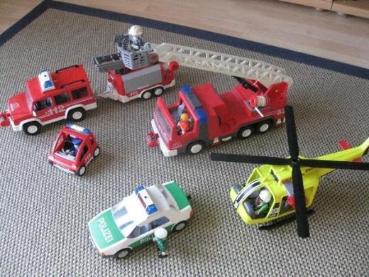 Feuerwehr- und Polizeieinsatz-Set