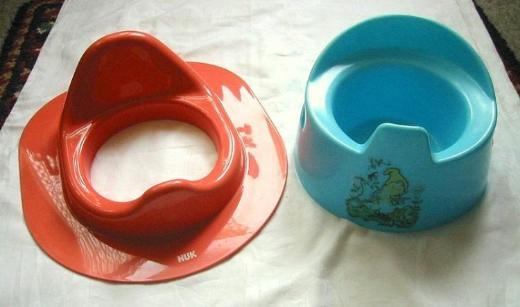 NUK Kinder Toilettensitz und Kinder Töpfchen