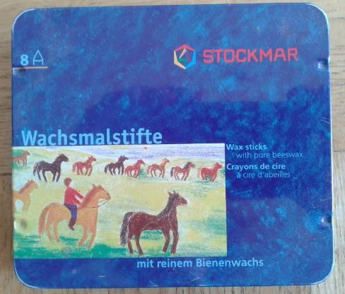 Stockmar Wachsmalstifte 8 Stück