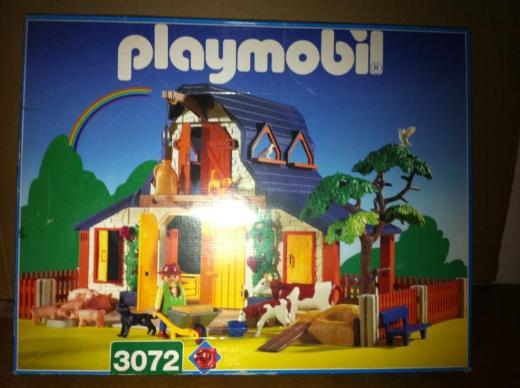 Playmobil Bauernhof Artikel Nr. 3072 mit reichlich Zubehör