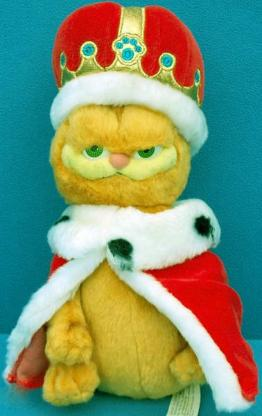 Garfield 2 Kater Katze Stofftier Kuscheltier Plüschtier  ca.30 cm NEU OVP