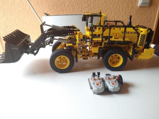 LEGO 42030 Knickgelenk Radlader Umbau mit Bauanleitung und OVP