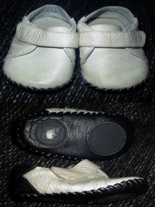 Little blue lamb Babyschuhe Gr. 19 20 echt Leder 12 - 18 Monate 125mm – 598