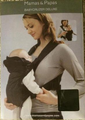 Bauchtrage Babycruzer Deluxe