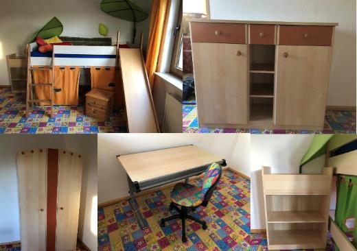Komplettes Kinderzimmer (8-teilig) zu verkaufen