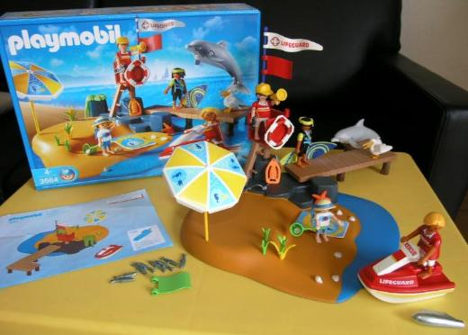 Playmobil Strandwache - Set 3664 passt zu family fun