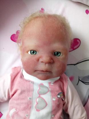 Vollsilikon-Baby Mädchen
