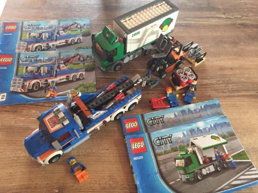 Lego City 60020& 60056