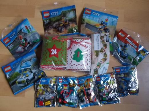 Advents Paket Jungen: Adventskalender + Lego City NEU !
