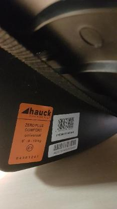 Sitzschale von Hauck NEU   NP. 70 Euro
