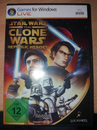 Star Wars Rebulic Heroes Spiel für PC CD