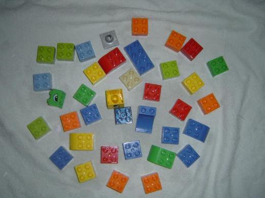 37 LEGO Duplo Bausteine