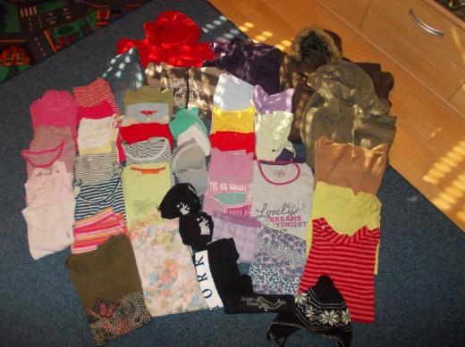 Einzeln zu bekommen: Jacken,Pullover,Shirts,Jeans-Bermuda,Schlafanzug,146,152,158,164170