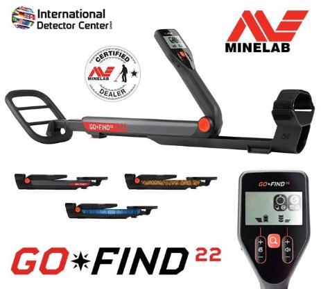 Minelab GO-FIND 22 Metalldetektor