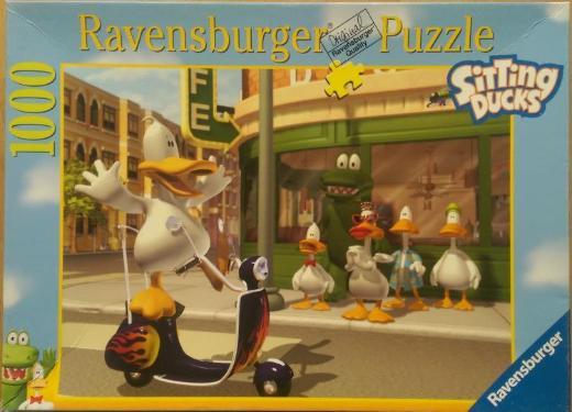 """Puzzle """"Sitting Ducks"""" von Ravensburger, 1000 Teile"""