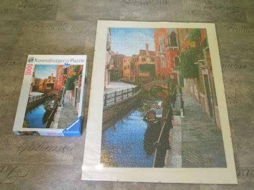 Ravensburger Puzzle 1000 Teile, Venedig, ohne Bilderrahmen