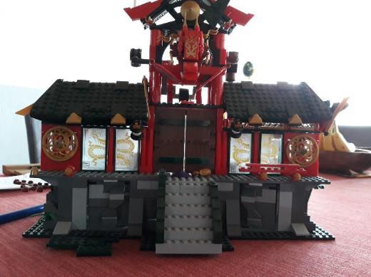 Lego Ninjago Tempel
