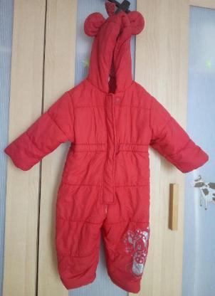 Kinder Ski Anzug Gr 80