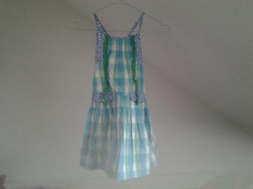 Sommer Kleid für Kinder Gr. 116