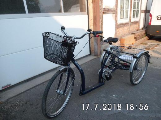Verkauf ein Elektro-Dreirad