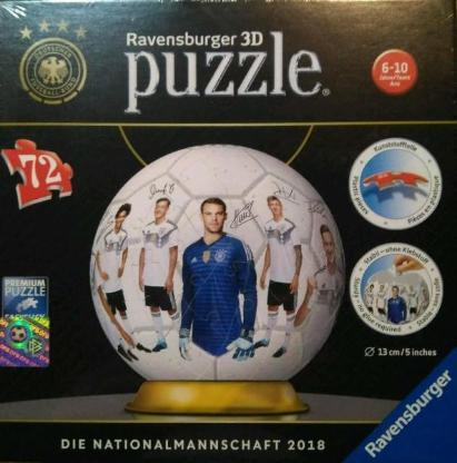 3D Puzzle Ravensburger Nationalmannschaft 2018 neu
