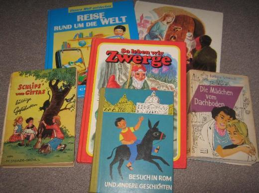 Bücher und Hefte für Kinder und Jugendliche / Teil 3