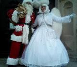 Weihnachtsmann, Weihnachtsengel, Weihnachtsfeuershow, Show und Unterhaltung zu Weihnachten - Magdeburg