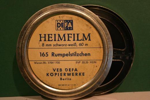 Märchenfilm super8. Rumpelstilzchen s/w.  Nr.9623