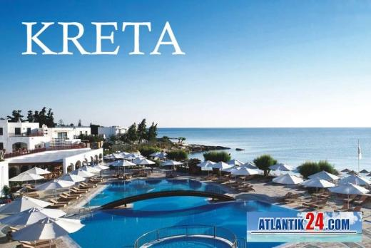 Atlantik24 Kreta 10 Tage im traumhaften 5 Sterne Hotel mit All inclusive ab 861 € p.P