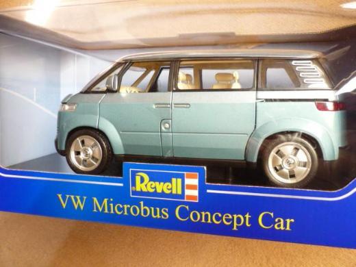 Revell Metall 1:18 VW Microbus Concept Car blau OVP