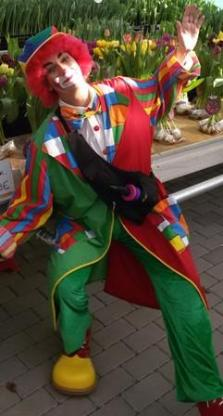 Clown, Kinderclown, Ballonclown, Kinderunterhaltung Ambrosia van Serpens