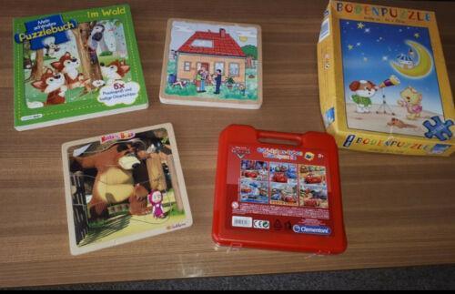 5 Puzzle Kleinkind Puzzle Holzpuzzle Puzzlebuch Würfel Puzzle XXL Kleinkind