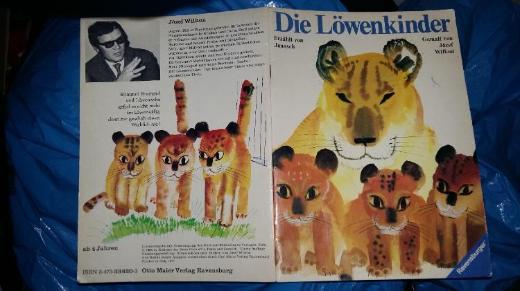 Die Löwenkinder Erzählt von Janosch Gemalt von Józef Wilkoń Ravensburger 1975 ISBN 3473336203 ab 4 Jahren Buch VERKAUFSWARE