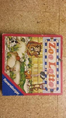 Zoo Lotto 1975 1977 Ravensburger 605 5 201 0 Spieler 1-4 Alter 3-8 VERKAUFSWARE