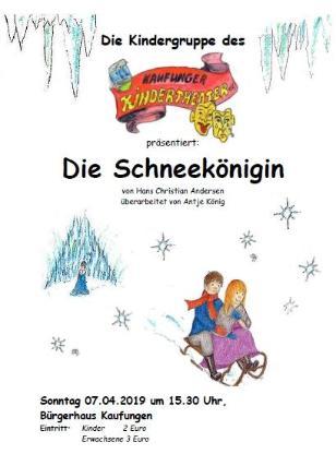 Die Schneekönigin - Theater für Kinder