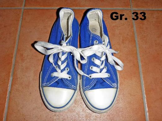 Stoffschuhe/Sneaker wie Chucks von Firefly Gr. 33