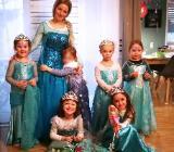 Prinzessin zu Kindergeburtstag, Kinderfest, Kinderparty buchen in Herford, Minden, Bünde, Bielefeld, ganz OWL und Osnabrück mit KidsEffekt - Rödinghausen