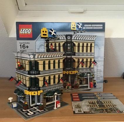 Großes Lego Kaufhaus (Creator) 10211 mit OVP und Anleitungen