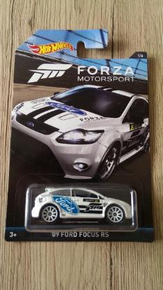 Hot Wheels 2017 Forza Motorsport XBox #1/6 '09 Ford Focus RS NEU & OVP