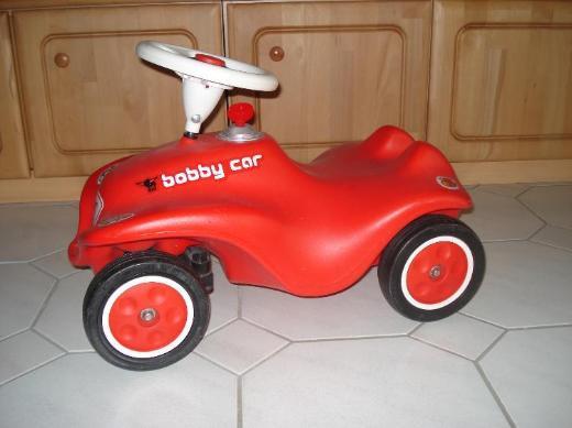 New Big Bobby Car mit Flüsterreifen,Starter Kid,Schuhschoner